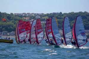 Racing with RSX sails