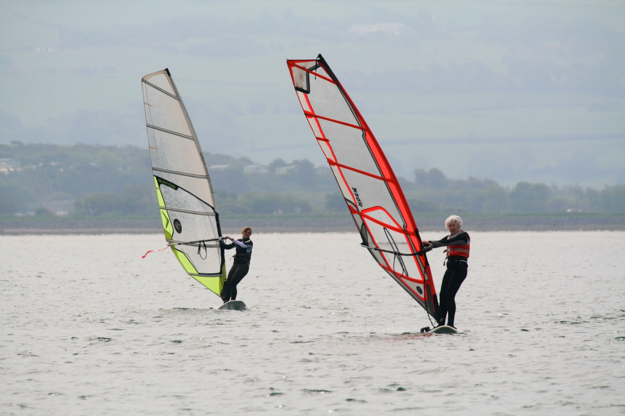 Lightwind racing for the master-blasters